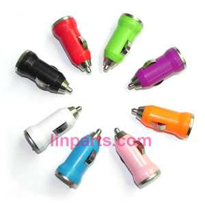 Small helicopter Colorful Mini Car USB charger